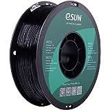 eSUN 3D 1.75mm PETG Black Filament 1kg (2.2lb), PETG 3D Printer Filament, 1.75mm Solid Opaque Black
