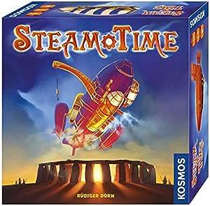 KOSMOS Steam Time - Juego de Tablero (Azul, Verde, Caja): Dorn, Rüdiger: Amazon.es: Juguetes y juegos