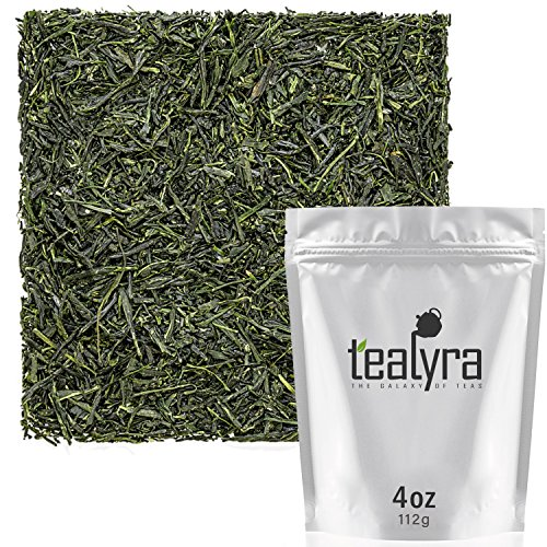 Tealyra - Hibi Uji Gyokuro - Luxury Japanese Green Tea - Rich Umami - High Antioxidants Pure Green Tea - Medium Caffeine - 112g (4-ounce) ()