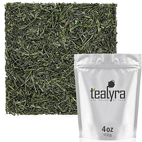 Tealyra - Hibi Uji Gyokuro - Luxury Japanese Green Tea - Rich Umami - High Antioxidants Pure Green Tea - Medium Caffeine - 112g (4-ounce) (Gyokuro Green Tea)