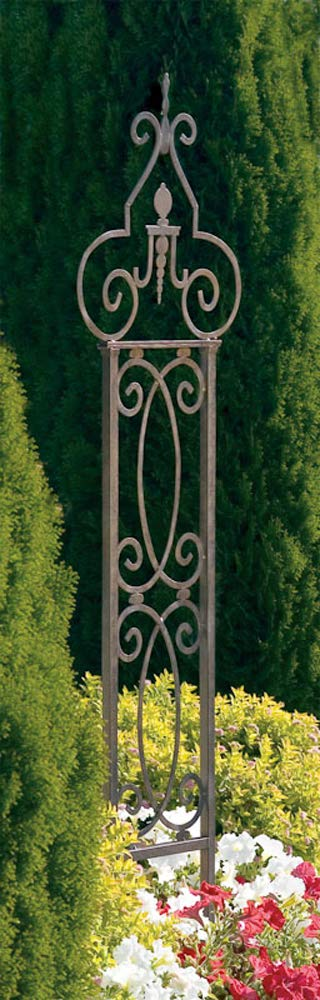 H Potter Garden Scroll Trellis Weather Resistant Wrought Iron 124