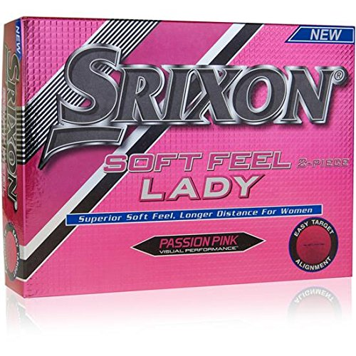 Srixon Soft Feel Lady Pink Golf Balls