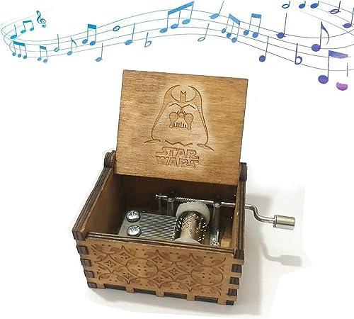 Funmo - Puro Mano clásico Star Wars Caja de música Caja de música ...