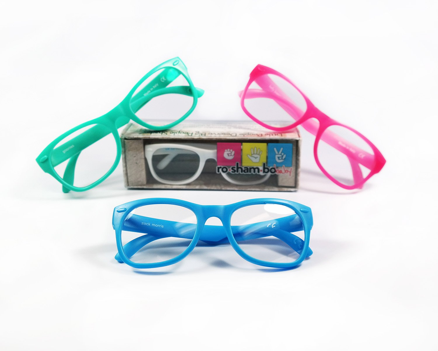 Roshambo Junior Shades, 90210 (Teal/White) by Roshambo Baby (Image #5)