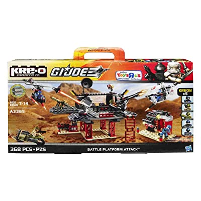 KRE-O GI Joe Battle Platform Attack A3365: Toys & Games