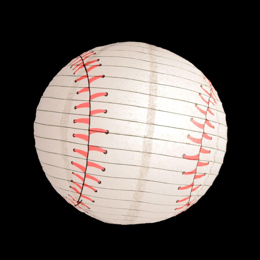 Quasimoon PaperLanternStore.com Baseball Paper Lantern (10 PACK)