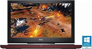 Dell - Inspiron 15.6in Laptop - Intel Core i5 - 8GB Memory - NVIDIA GeForce GTX 1050 - 1TB + 8GB Hybrid Hard Drive - Black (Renewed)