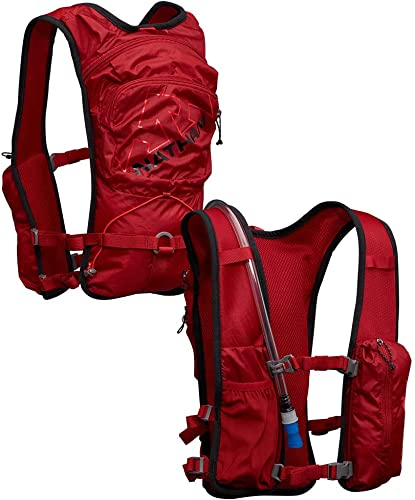Nathan QuickStart 6L Hydration Vest Pack with 1.5L Bladder Included. One Size Fits Most. Backpack for Men and Women.