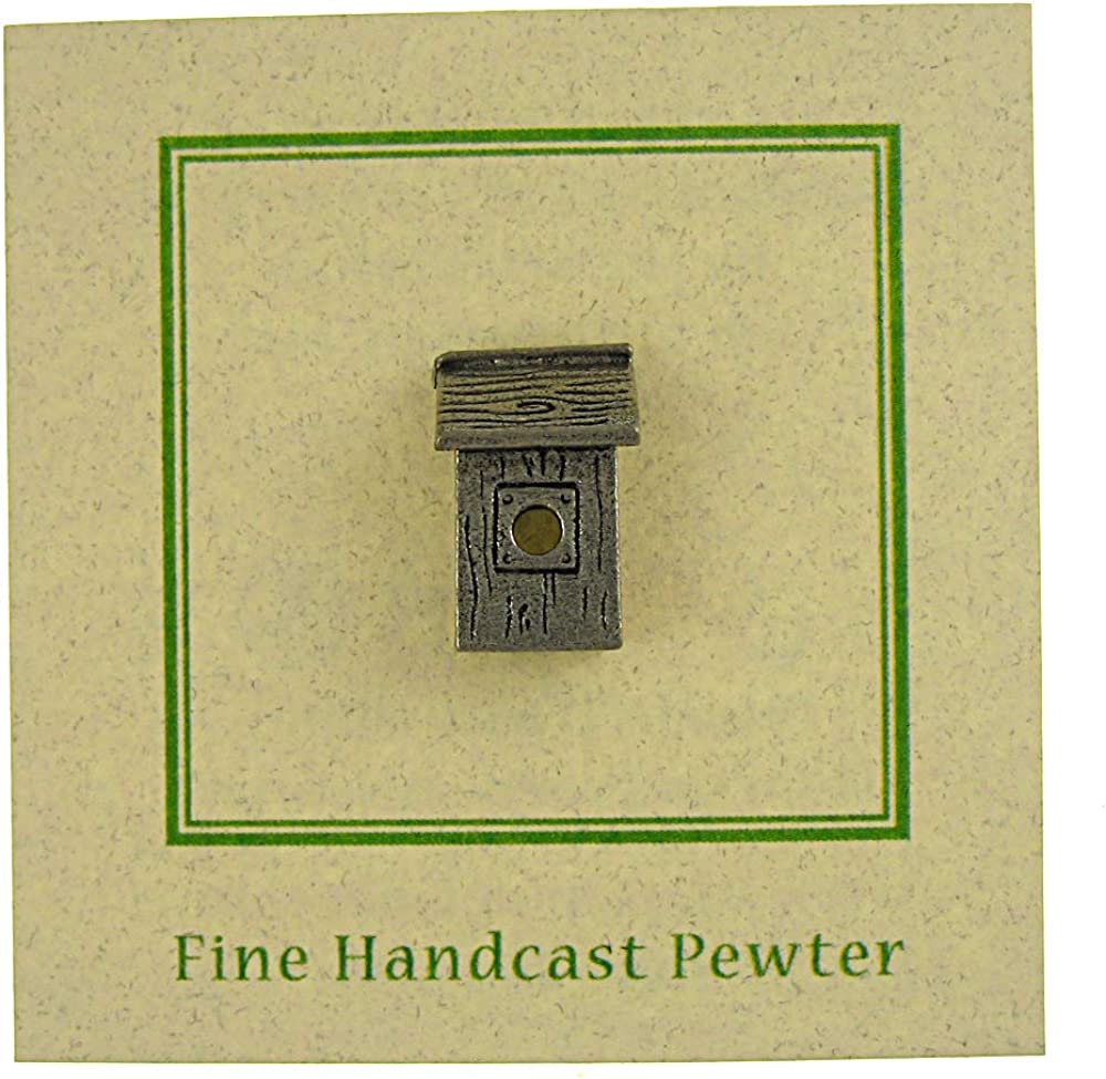Jim Clift Design Nest Box Lapel Pin