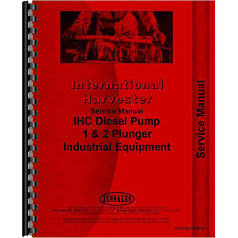 Amazon.com: New International Harvester TD6 Injection Pump Service Manual  (for Crawler): Industrial & Scientific
