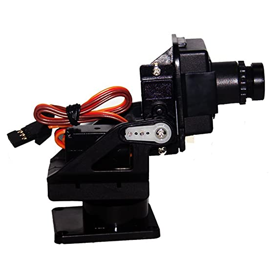 Pan//Tilt Caméra Platform Anti-Vibration Camera Mount avec 2 servos pour avion