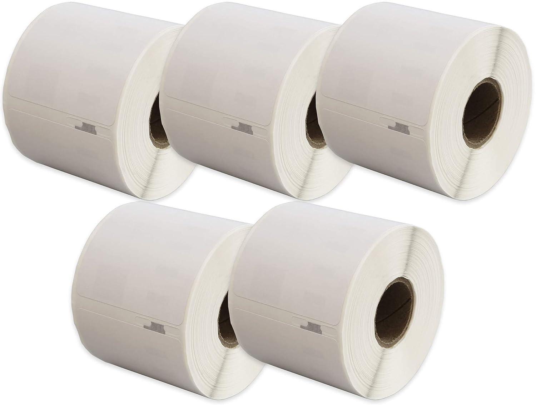 220 /étiquettes par rouleau pour Seiko Smart SLP Pro Plus 100 120 200 220 240 410 420 430 440 450 Compatible Rouleau Seiko SLP-SRL 54mm x 101mm /Étiquettes