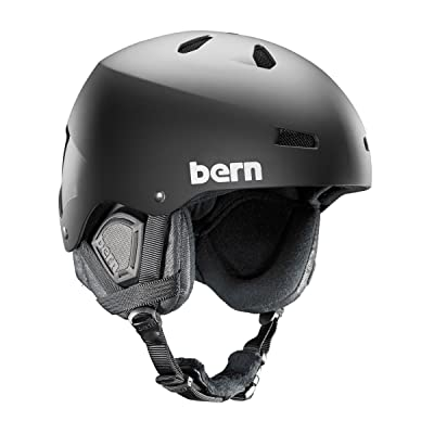 BERN MACON EPS Helm 2015 matte black premium