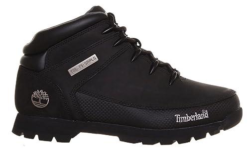 a2a22147 Timberland - Botas de cuero para hombre, color negro, talla 40: Amazon.es:  Zapatos y complementos
