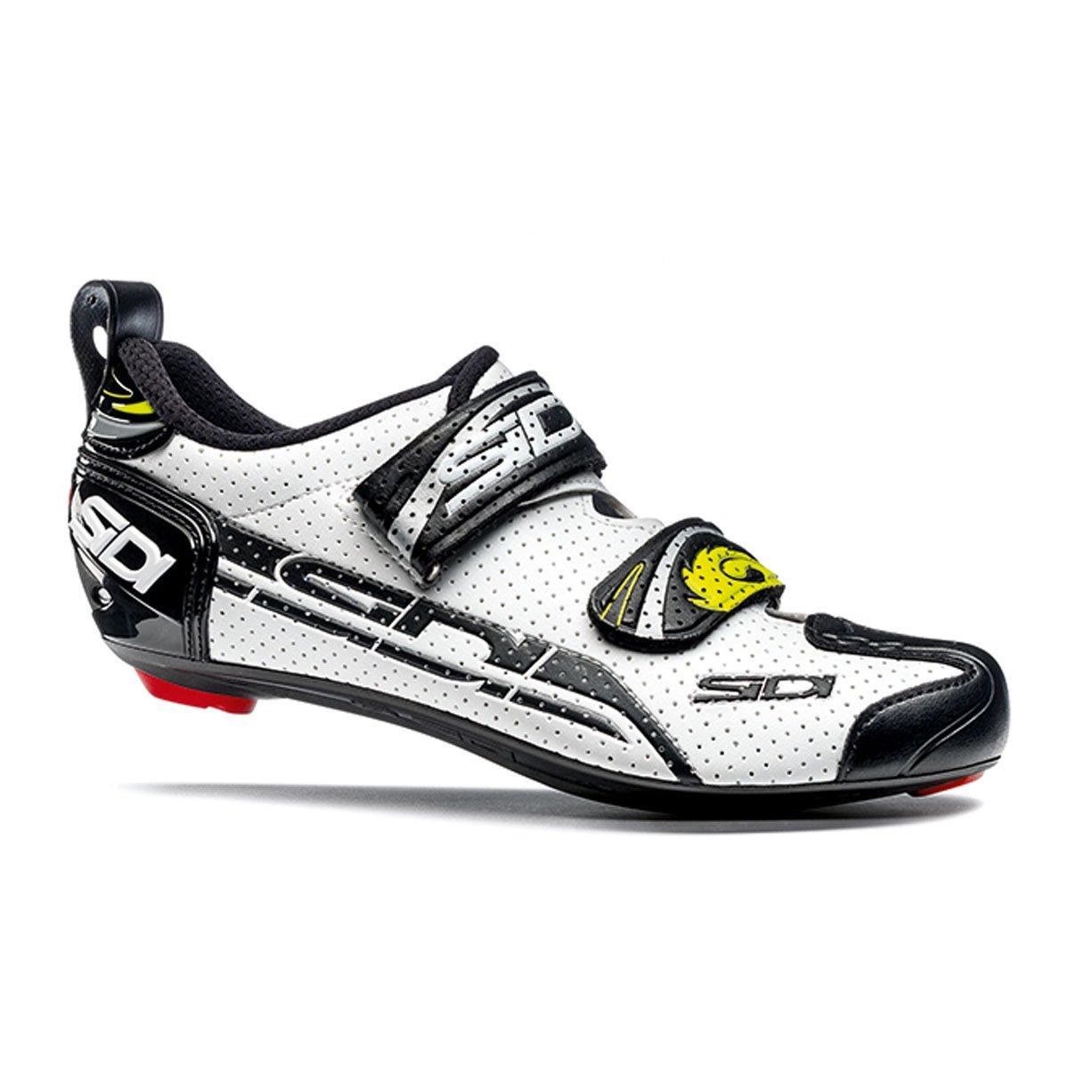 Sidi T-4 Air Carbon Fahrradschuhe Herren Weiß schwarz Größe 43 2017 Mountainbike-Schuhe