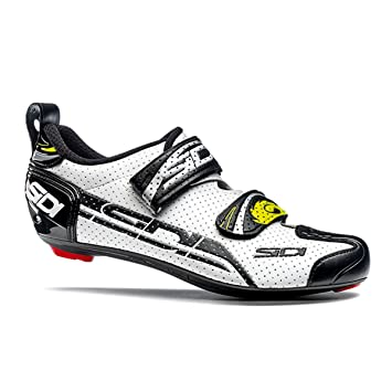 Sidi T4 Air Carbon bicicleta guantes Men White/Black 2016 – Zapatos de ciclista,
