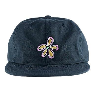 d5ef7039fa2fa Stussy Flower Ripstop Snapback Hat Cap Black  Amazon.co.uk  Clothing