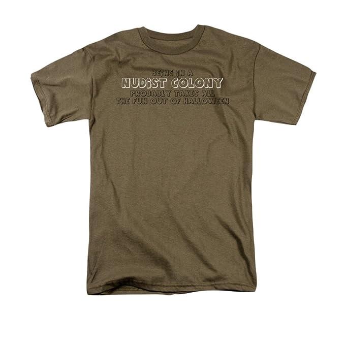 2Bhip colonia nudista camiseta para hombre Grande Verde