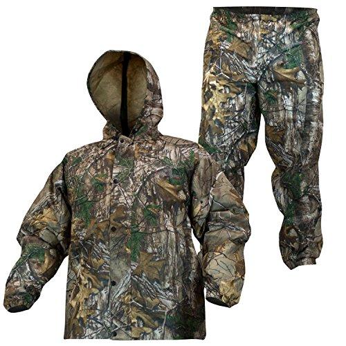 Compass 360 Sport Tek 360 Non-Woven Rain Suit, Medium, Realtree Xtra - Suits Warehouse