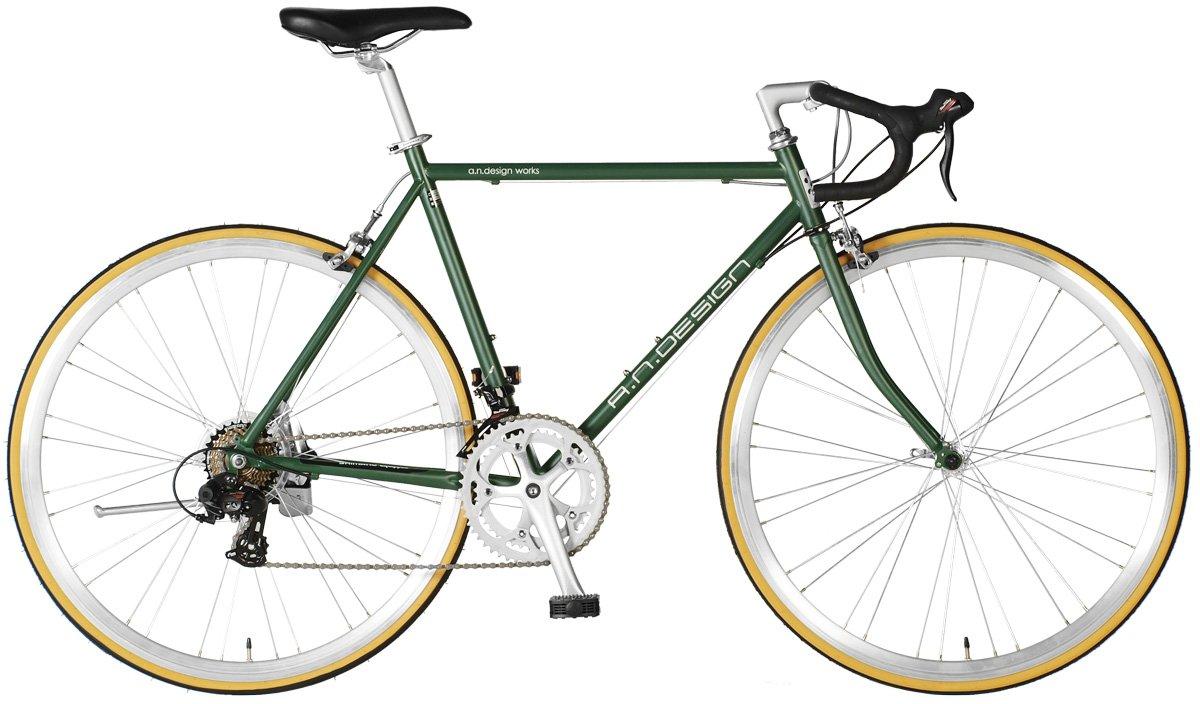 【a.n.design works】(エーエヌデザインワークス) DRC オリーブドラブ 700c 160cm~ B0151A1962