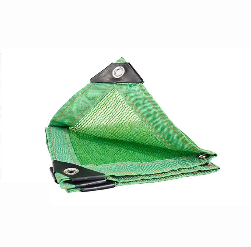 Hwpb Green Shade net 6-pin Edge encryption Thickening Sunscreen Balcony Insulation net Gardening Shade net