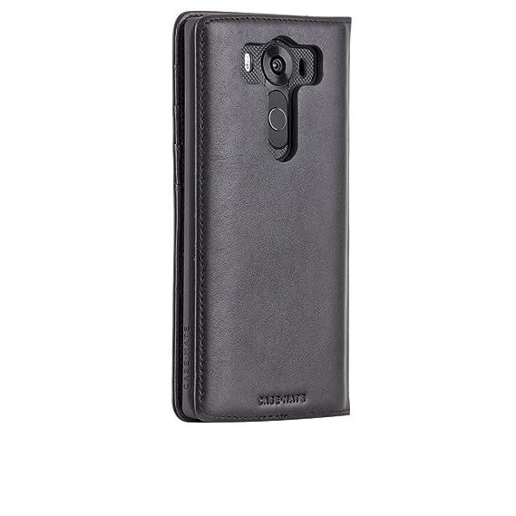 8585060600b7 Amazon.com  Case Mate Wallet Folio Phone Case -LG V10 - Black  Cell ...