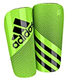 adidas Performance Ghost Shin Guards, Solar Green/Black, Medium