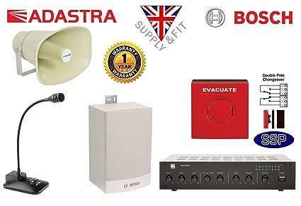 Bosch sistema de alerta de alarma de emergencia suministro y ...