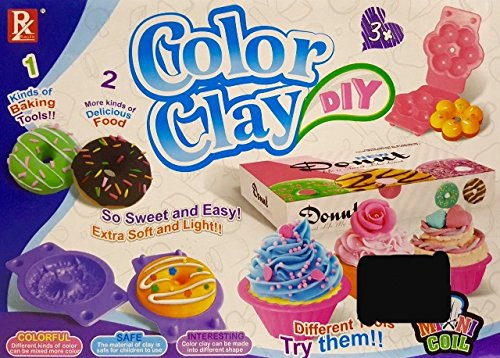 - Play Baby Toys DIY Super Soft Clay Collection, Starter Kit - Mini Bake Shop - Taking Creativity To A New Level