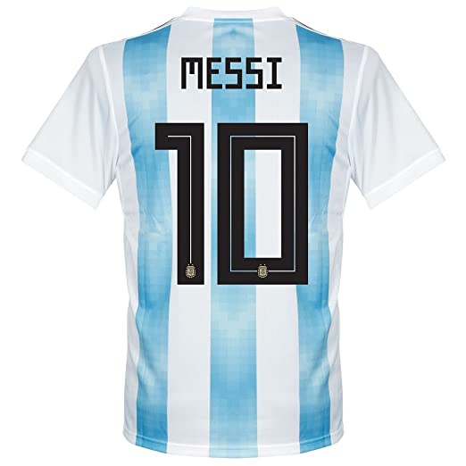 f6b80c1578 Amazon.com   adidas Argentina Home Messi Jersey 2018 2019 (Official  Printing)   Sports   Outdoors