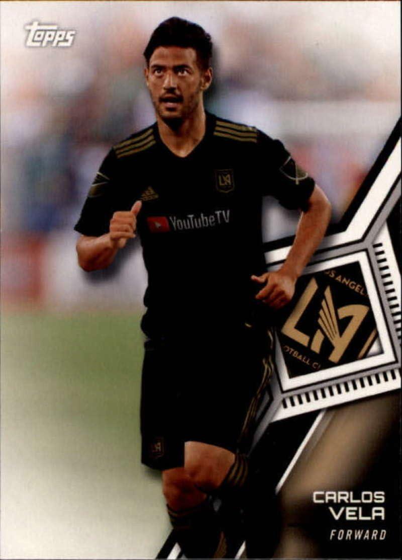 2019 Topps MLS Base Variation SP #79 Carlos Vela LAFC