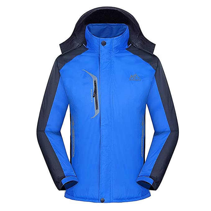 size 40 acb49 d2a3f FRAUIT Cappotto Uomo Invernale Impermeabile Giacche ...