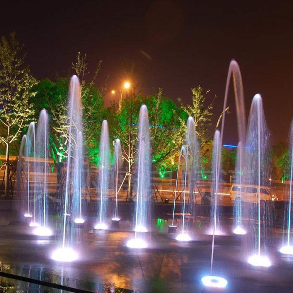 SODIAL 1 1/2 Dn40 Brass Geyser Water Fountain Nozzle Spray Pond Sprinkler - for Garden Pond, Amusement Park, Museum, Library