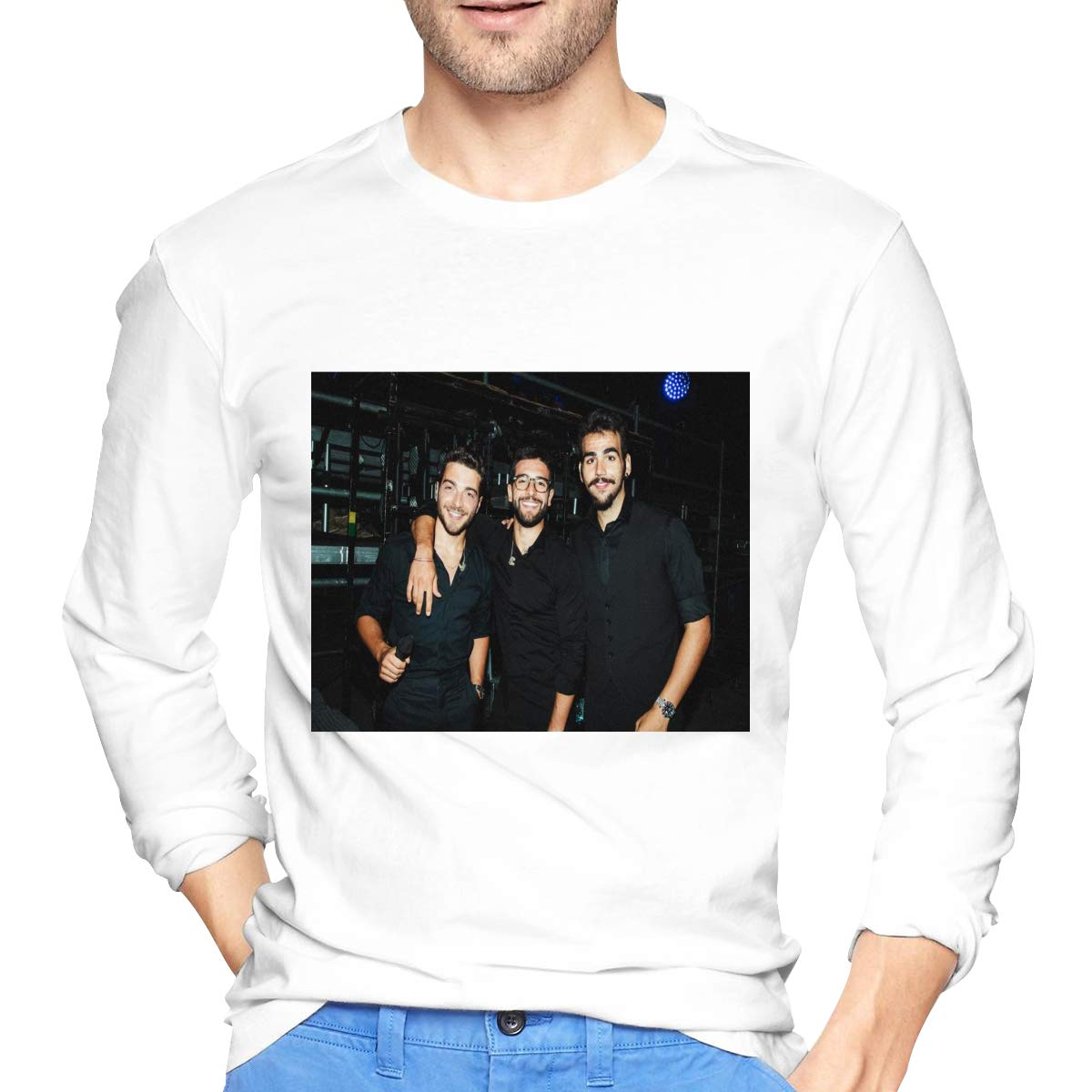 Lihehen Il Volo Retro Printing Round Neck T Shirts