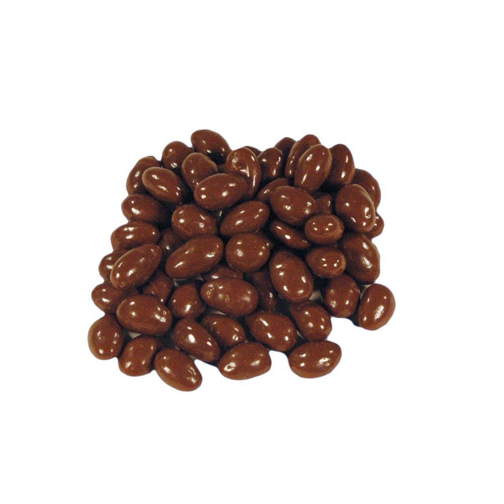 Carolyn's Handmade Milk Chocolate Covered Almonds (Panned) Bark Bulk, 400 Ounce (= 25lbs)