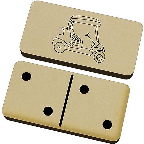 Azeeda Carrito de Golf Domino Juego y Caja (DM00018866)