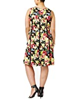 Ny Collection Plus Size Fit & Flare Dress