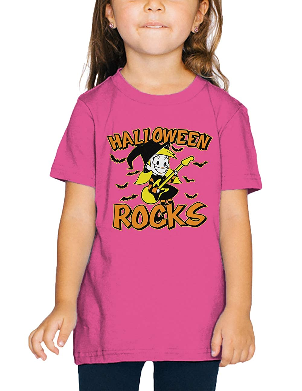SpiritForged Apparel Halloween Rocks Witch Toddler T-Shirt