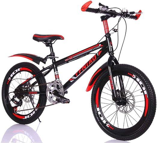 MUYU Bicicleta Infantil De Una Velocidad Rueda De 20/24 Pulgadas ...
