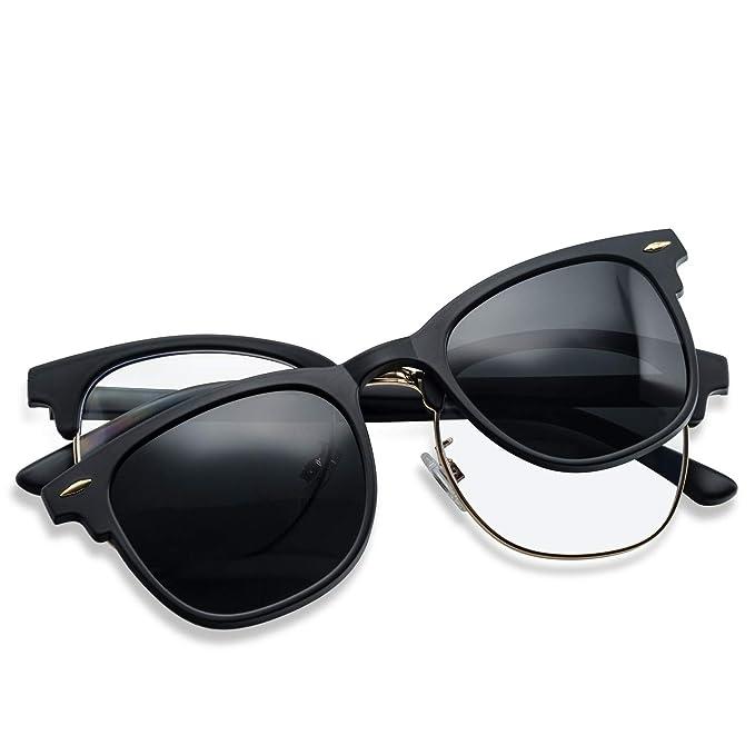 Amazon.com: Gafas de sol polarizadas con clip y lentes ...