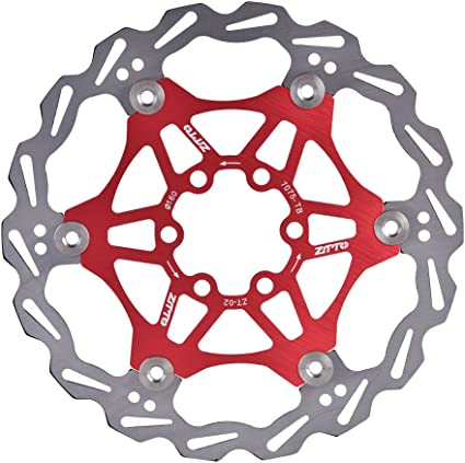MTB Mountain Bike Bicycle Brake Disc Floating Rotor 160//180mm 6 T25 Bolts Rotors