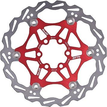 Rotor de Freno de Disco Flotante Bicicleta de Ciclismo 160 mm ...