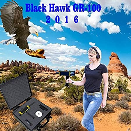 Amazon.com : gold detector Black Hawk GR-100 Long Range King Detector gold Gem Gold Metal detector underground gold detector diamond long range gold locator ...
