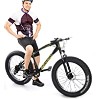 Deals on Allasfun Fat Tire Mountain Bike 26-inch