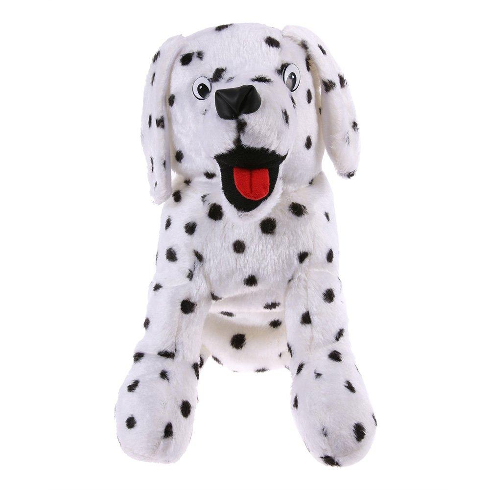 sikiwindゴルフクラブヘッドカバークリエイティブ漫画犬バーヘッド保護カバー B07DL8PGV8