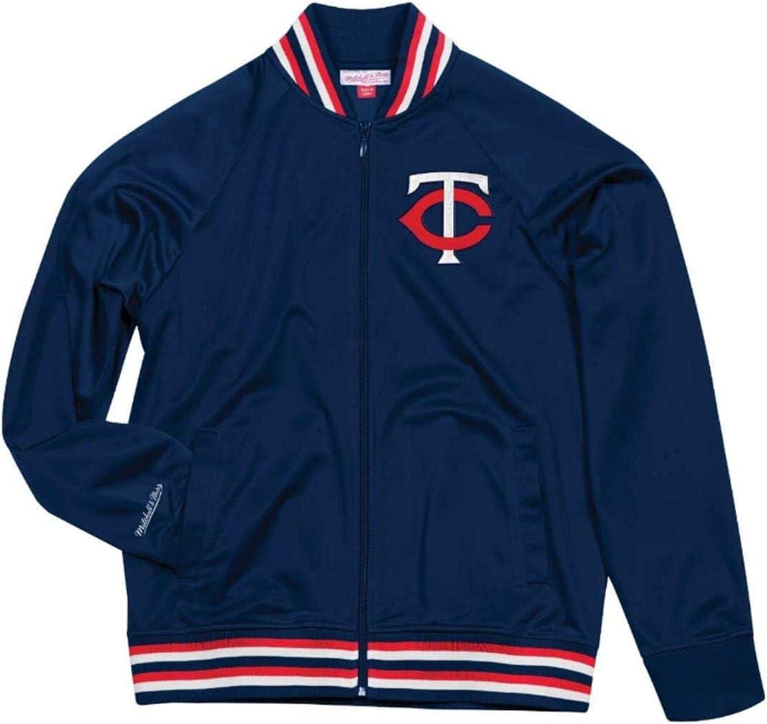 Mitchell /& Ness Minnesota Twins Top Prospect Mens Navy Jacket
