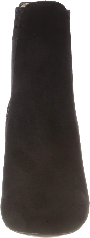 Unisa Nirma_KS, Bottes Chelsea Femme Noir Black Black