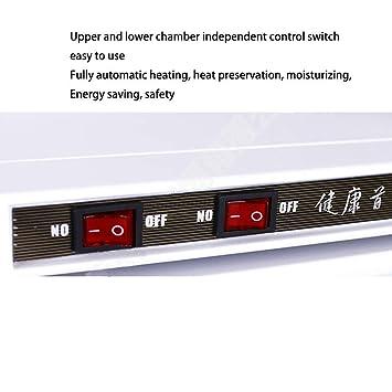 16L/32L Caliente Esterilizador de Toallas Toalla Calentador Gabinete Alto Temperatura Calefacción Gabinete para Belleza Salón Hotel Casa Barbero Tienda: ...