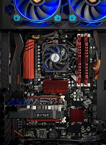 SkyTech Legacy - Gaming Computer PC Desktop - AMD 8-Core FX-8300 3.3 GHz, 120GB SSD, GTX 1060 3GB, 1TB HDD, 16GB DDR3, 970 Chipset Motherboard, WIN 10 Home (GTX 1060 3G | FX-8300 | 16GB | 120GB SSD) by Skytech Gaming (Image #2)
