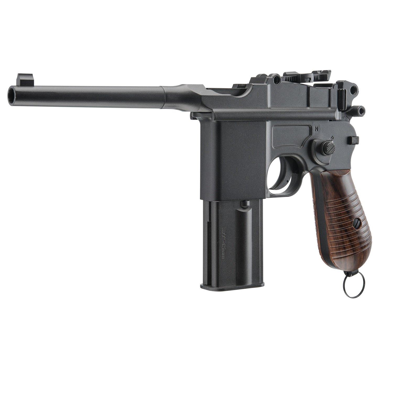 Umarex Legends M712 Blowback Air Gun, Black/Brown